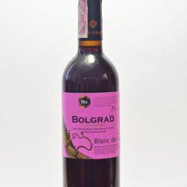Вино Блан де Ноірс Болград напівсолодке рожеве, Blanc de noirs Bolgrad 0,75 л.