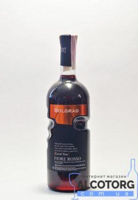 Вино Фіоре Россо Болград Рука напівсолодке червоне, Bolgrad Fiore Rosso 0,75 л.