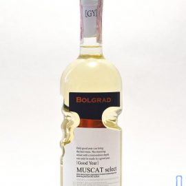 Вино Мускатне Селект Болград Рука напівсолодке біле, Bolgrad Muscat Select 0,75 л.