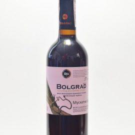 75 л. Вино Мускатное Селект полусладкое красное Болград 0