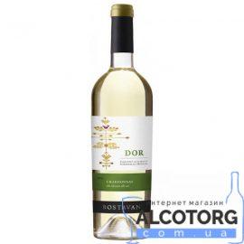 Вино Боставан Дор Шардоне сухе біле, Bostavan Dor Chardonnay 0,75 л.