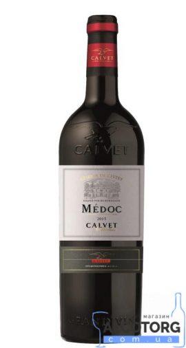 Вино Кальве Резерв де л'Есте Медок червоне сухе