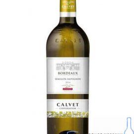 Вино Кальве Семіллон Совиньон біле сухе, Calvet Semillon-Sauvignon Bordeaux 0,75 л.