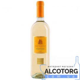 Вино Шардоне Зіцаріні біле сухе, Chardonnay Sizarini 0,75 л.