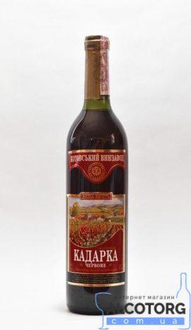 Вино Кадарка червоне напівсолодке Марінталь 0