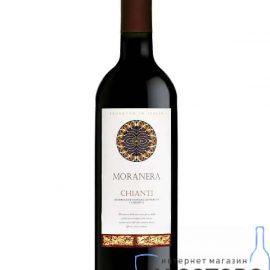 Вино К`янті червоне сухе Моранера, Chianti DOC 2016 Moranera 0,75 Л.