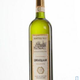 Вино Цинандалі біле сухе Картулі Вазі, Kartuli Vazi 0,75 л.