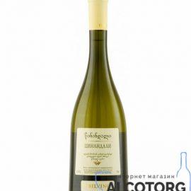 Вино Цинандалі Тбілвино біле сухе, Tsinandali Tbilvino 0,75 л.