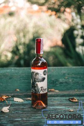 Вино Розе напівсолодке рожеве Дог Смайл Котнар