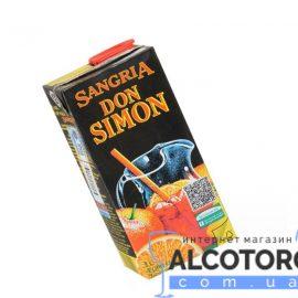 Вино Ароматизоване Дон Сімон Сангрія солодке червоне, Don Simon Sangria 1 л.