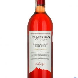 Вино Драгонс Бэк Маунтейн розовое полусладкое, Dragons Back Mountain 0,75 л.