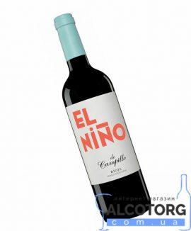 Вино Ель Ніньо де Кампільо червоне сухе, El Nino de Campillo 0,75 л.