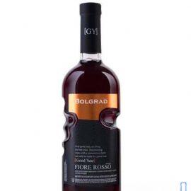 Вино Фіоре Россо Болград Рука напівсолодке червоне, Bolgrad Fiore Rosso Good Year 0,75 л.