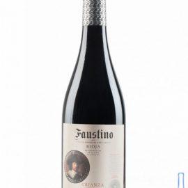 Вино Фаустіно Кріанца Ріоха червоне сухе, Faustino Crianza Rioja 0,75 л.