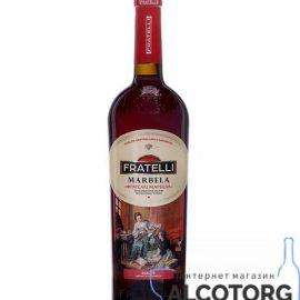 Вино Фрателлі Марбелла червоне напівсолодке, Fratelli Marbela 0,75 л.