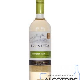 Вино Фронтера Совіньйон Блан біле сухе, Frontera Sauvignon Blanc 0,75 л.
