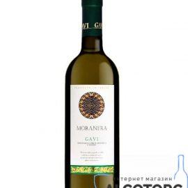 Вино Гавi Моранера біле сухе, Gavi DOC 2017 Moranera 0,75 л.