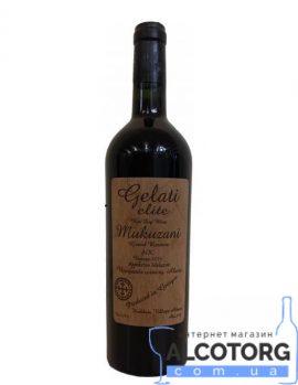 Вино Мукузані Галеті Еліт 2014 червоне сухе