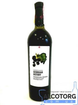 Вино Алазанська долина напівсолодке червоне GH 0