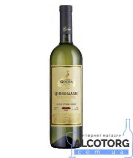 Вино Цинандалі Гоча біле сухе Gocha 0,75 л.