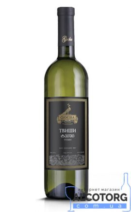 Вино Твіши Гоча біле напівсолодке Gocha 0