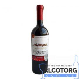 Вино Горобчики Каберне-Совіньйон Каліфорнія Резерв 2014 червоне сухе, Gorobchiki Cabernet-Sauvignon California Reserve 2014 Cotnar 0,75 л.