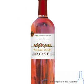 Вино Горобчики Розе рожеве сухе