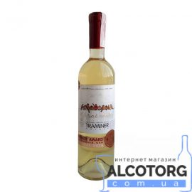 Вино Горобчики Трамінер Каліфорнія Резерв 2014 Котнар