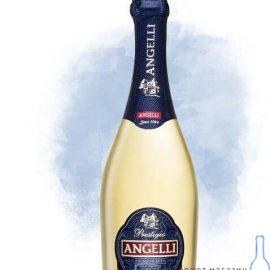 Вино ігристе Анжелі біле напівсолодке, Angelli 0,75 Л.