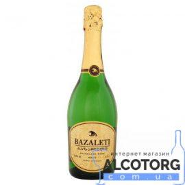 Вино ігристе Базалеті біле брют, Bazaleti Brut 0,75 л.