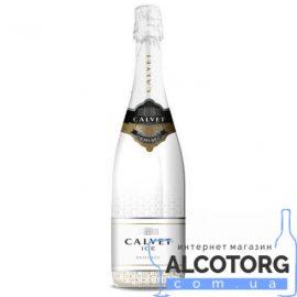 Вино ігристе Кальве Айс Шардоне біле напівсолодке, Calvet Ice Chardonnay 0,75 л.