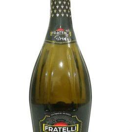 Вино ігристе Фрателлі Брют Біле, Fratelli Brut 0,75 л.