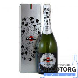 Вино Ігристе Мартіні Асті коробка біле солодке, Martini Asti 0,75 л.