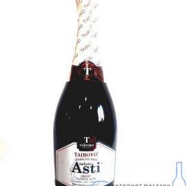 Вино ігристе Салюте Асті Таїрово біле солодке 0,75 л.