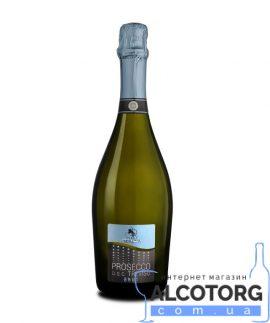 Вино ігристе Терра Серена Просекко Спуманте сухе біле, Terra Serena Prosecco Spumante DOC Treviso 0,75 л.