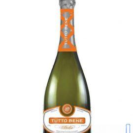 Вино ігристе Тутто Бене біле солодке, Tutto Bene white sweet 0,75 л.
