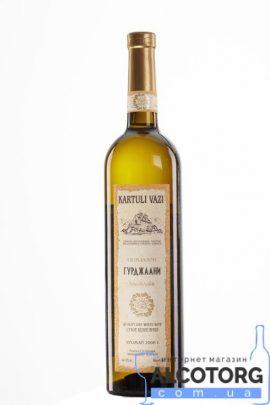 Вино Гурджаані біле сухе Картулі Вазі, Kartuli Vazi 0,75 л.