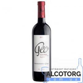 Вино Хванчкара Джео червоне напівсолодке, Geo Khvanchkara 0,75 л.