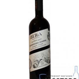 Вино Алазанська Долина Іберіа Червоне Напівсолодке, IBERiA Alazany Valley 0,75 Л.