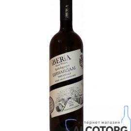 Вино Цинандалі Іберіа біле сухе, iBERiA Tsinandali 0,75 л.