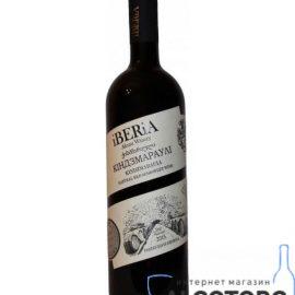 Вино Кіндзмараулі Іберіа червоне напівсолодке, iBERiA Kindzmarauli 0,75 л.