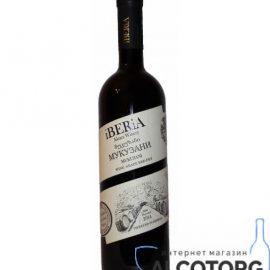 Вино Мукузані Іберіа червоне сухе, iBERiA Mukuzani 0,75 л.