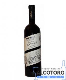 Вино Мукузані Іберіа червоне сухе