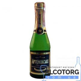 Вино ігристе Артемівське Біле брют, Artemovskoye White Brut 0,2 л.