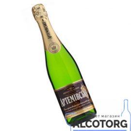 Вино ігристе Артемівське Біле напівсолодке