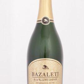 Вино ігристе Базалеті біле напівсухе, Bazaleti Semi dry 0,75 л.