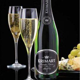 Вино ігристе Крімарт Екстра брют тубус, Krimart Extra Brut 0,75 л.