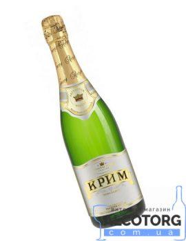 Вино ігристе Крим Біле напівсолодке