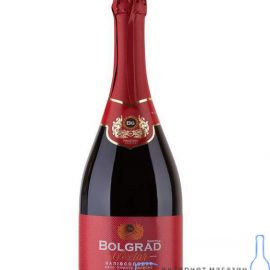 Шампанське Болград червоне напівсолодке, Bolgrad Red 0,75 л.