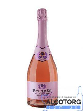 Шампанское Болград розовое полусладкое, Bolgrad semi-sweet 0,75 л.
